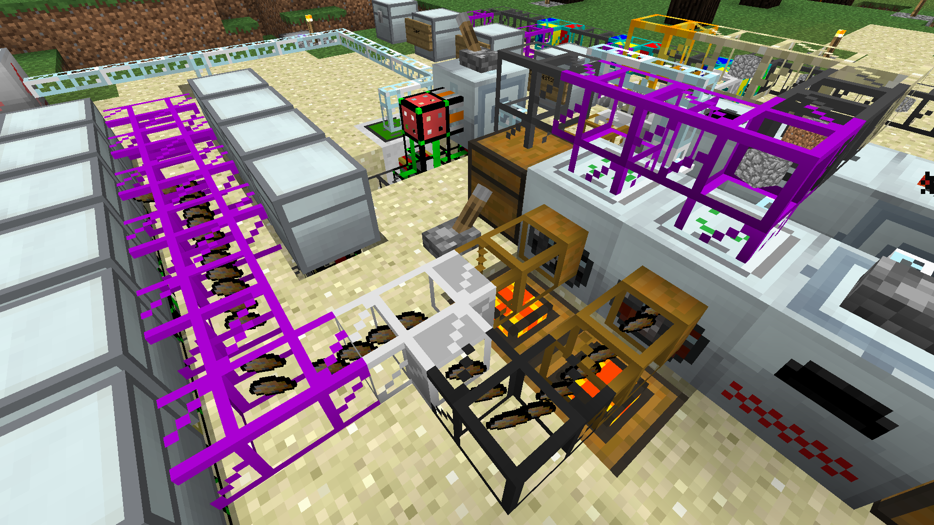 Advanced Miner Industrial Craft  Experimental